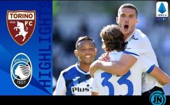 [Highlights] Serie A - Torino 2-4 Atalanta